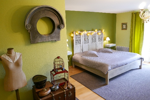 Chambre d'hote Bas-Rhin - Chambre Feuillages