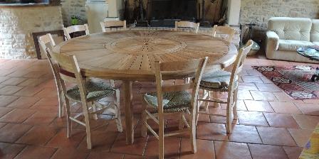 Les Moynes La table d'hôtes