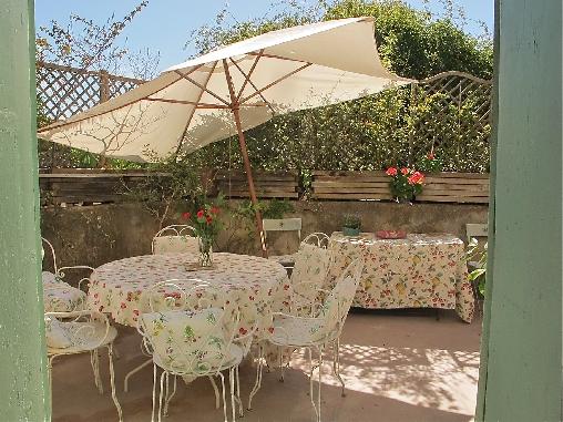 terrasse de printemps