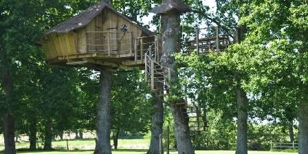 Au Petit Moulin du Rouvre Les cabanes