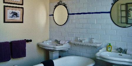 Au Soleil Salle de bain chambre Louison
