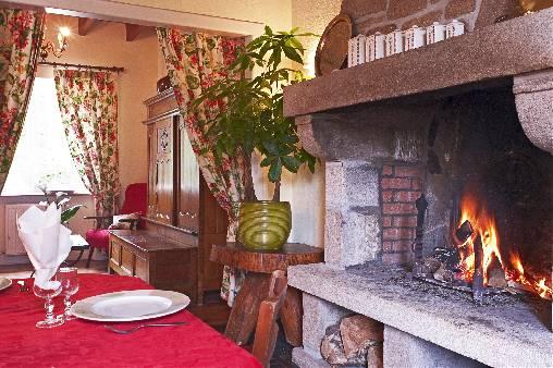 La salle à manger de la maison de Léontine