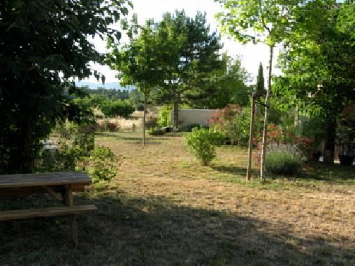 Chambre d'hote Vaucluse - devant la chambre