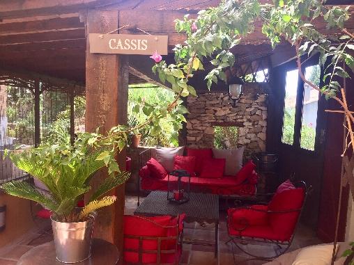 Chambre d'hote Bouches du Rhône - La piscine chauffée à partir de mai