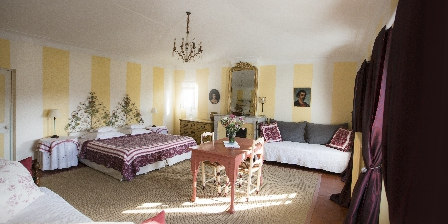 La Bastide du Bosquet La chambre Jaune