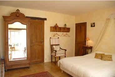 Chambre d'hote Vaucluse - La chambre Jaune
