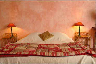 Chambre d'hote Vaucluse - La chambre Rouge