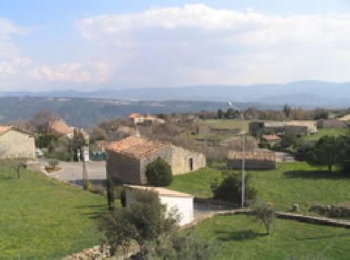 Chambre d'hote Vaucluse - La vue de la maison