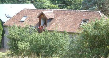 Chambre d'hote Indre-et-Loire - vue arrière - chambres d'hôtes