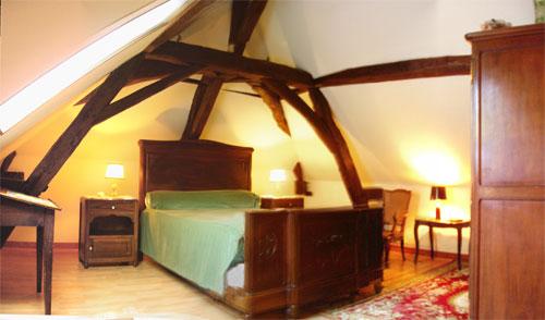 Chambre d'hote Indre-et-Loire - Chambre jaune