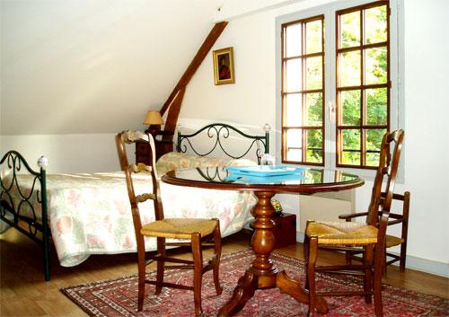 Chambre d'hote Indre-et-Loire - Suite bleue - chambre 2