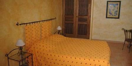 Bastide des Bourguets La chambre Tournesol