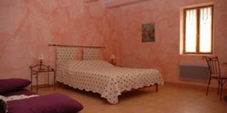 Bastide des Bourguets La chambre Coquelicot