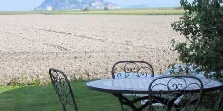 La Jacotière Salon jardin avec vue
