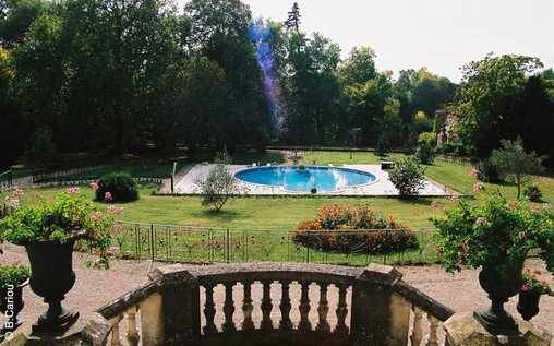 bed & breakfast Charente - swimming pool