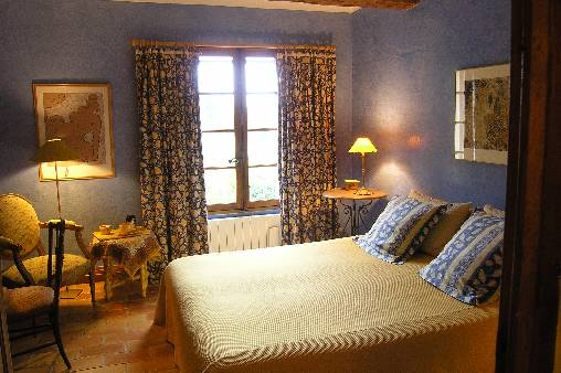 Chambre d'hote Gard - Chambre Bleue