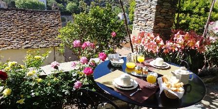Casa Maria Petit déjeuner dans le jardin
