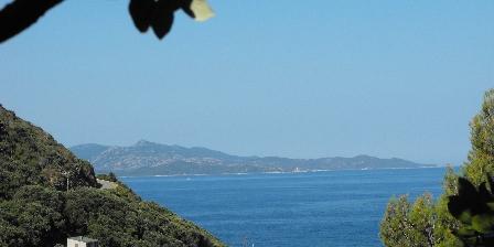 Les Gîtes du Cap Corse La vue d'un gite