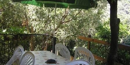Les Gîtes du Cap Corse U Fiume, Terrasse