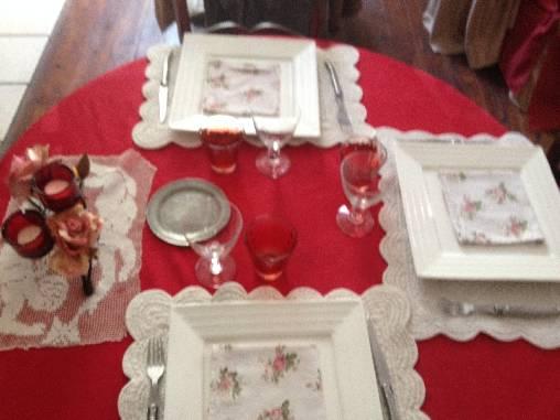 Chambre d'hote Aude - Table en fête au restaurant