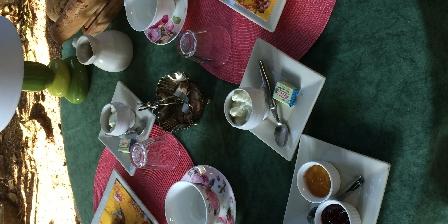 Villa les Cèdres Petit dejeuner