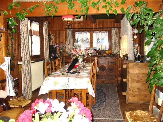 Chambre d'hote Haute-Savoie - La salle à manger
