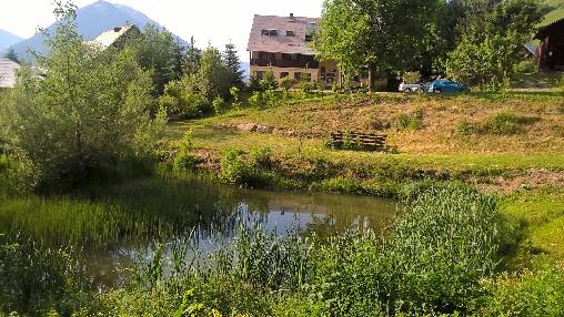 Le Chalet et son jardin