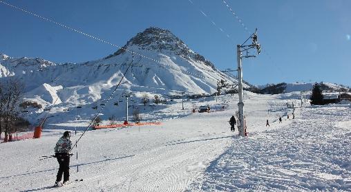 Pistes de ski du Col du Mollard