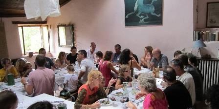 Gite de Chaloux Dining room