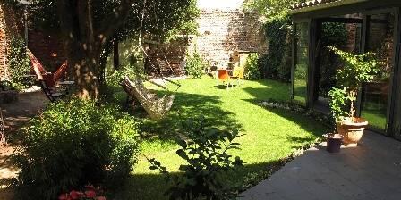 Chambre d'hôtes Anjali Le jardin