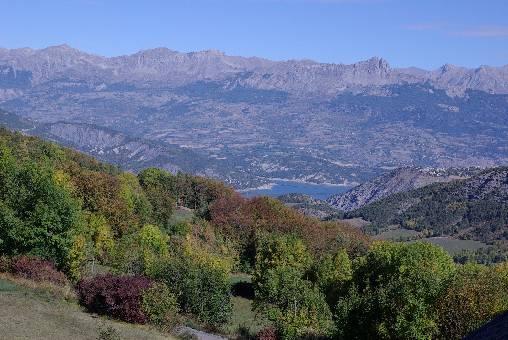 Chambre d'hote Alpes de Haute Provence - vue du Salon