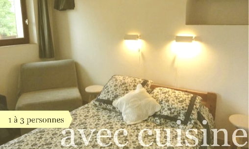 bed & breakfast Alpes de Haute Provence - Room with a kitchen