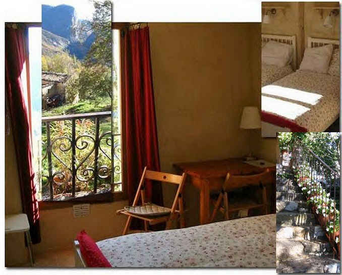 bed & breakfast Alpes de Haute Provence - the Upstairs room