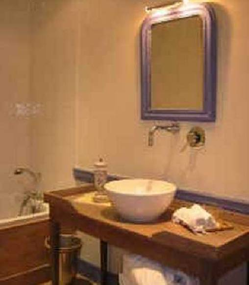 Chambre d'hote Loire - La salle de bain de la chambre Renaissance