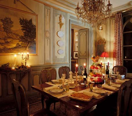 Chambre d'hote Gard - Salle à manger