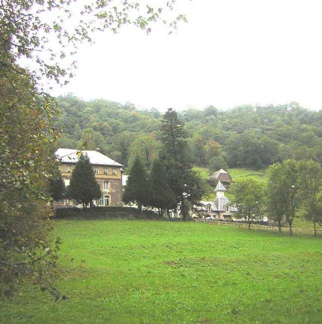 Chambre d'hote Cantal - Une vue du parc