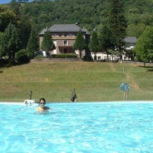 Chambre d'hote Cantal - La piscine