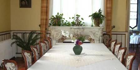 Château de la Fromental La salle à manger