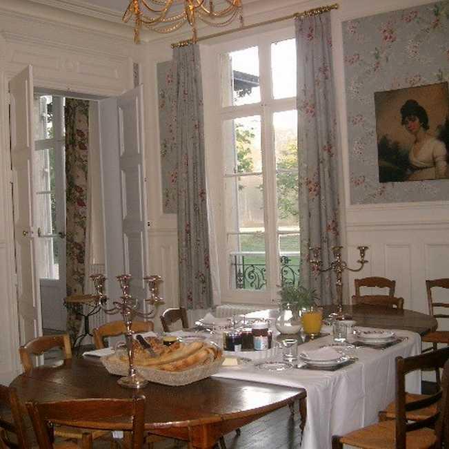 Chambre d'hote Eure - La salle à manger