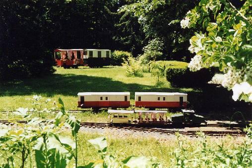 Chambre d'hote Allier - Les trains de jardin de l'Ormet