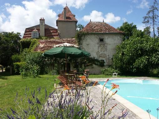 Chambre d'hote Allier - La piscine
