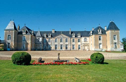 Chambre d'hote Charente-Maritime - Façade Château de Panloy