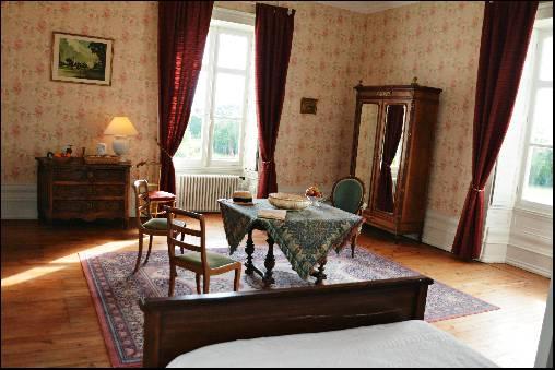 Chambre d'hote Charente-Maritime - Chambre Louis XVI