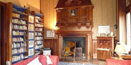 Chateau du Boisrenault La bibliothèque