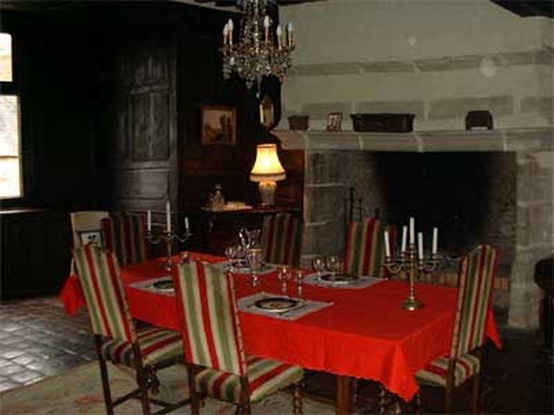 Chambre d'hote Allier - La salle à manger