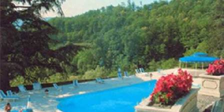 Château d'Urbilhac La piscine
