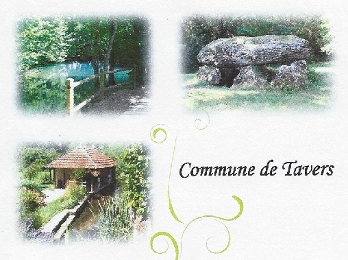 Tavers, Le Chemin des Eaux, Dolmen...