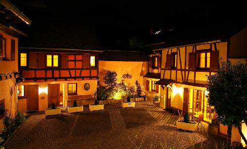 bed & breakfast Haut-Rhin - clos des raisins bed and breakfast in alsace