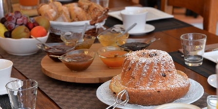 Chambre d'hotes Clos des Raisins > Le petit déjeuner