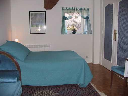 Chambre d'hote Rhône - Suite familiale la chambre bleue